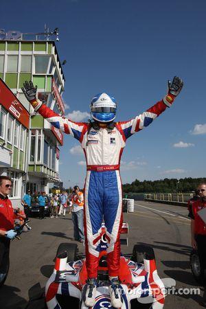 Jolyon Palmer won the race
