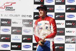 Winner of race two Jolyon Palmer