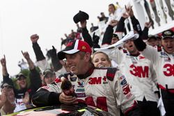 Victory lane: race winner Greg Biffle, Roush Fenway Racing Ford celebrates