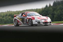 #69 Patrick Deblauwe Porsche 997 GT3 GT4: Patrick Deblauwe, René Brugmans, Didier grandjean, Jean-Michel Gérome