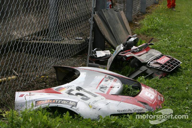 Pièces détachées de la #51 Phoenix Racing Audi R8 LMS GT3: Alexetros Margaritis, Marc Hennerici, Andrea Piccini, Henri Moser