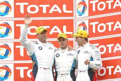 Podium: 3de Dirk Werner, Dirk Müller en Dirk Adorf