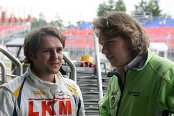 Harry Vaulkhard bamboo-engineering Chevrolet Lacetti with the Team Principal