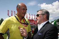 Jaime Puig Head of Seat Motorsport et Marcello Lotti, Manager général of KSO