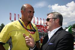Jaime Puig Head of Seat Motorsport et Marcello Lotti, Manager général of KSO