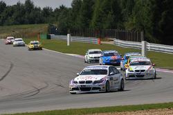 Andy Priaulx BMW Team RBM BMW 320si, Colin Turkington eBay Motors BMW 320si