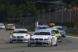 Andy Priaulx BMW Team RBM BMW 320si et Colin Turkington eBay Motors BMW 320si