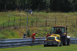 Gabriele Tarquini SR-Sport Seat Leon 2.0 TDI abandonne