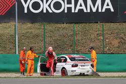 Kristian Poulsen Poulsen Motorsport BMW 320si abandonne