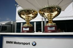 Trophys of the Weekend for Andy Priaulx BMW Team RBM BMW 320si