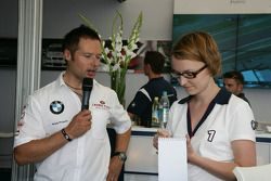 Meet the Driver with Andy Priaulx BMW Team RBM BMW 320si