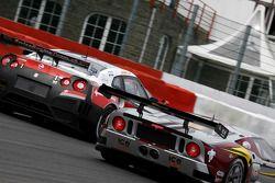 #40 Marc VDS Racing Team Ford GT: Bas Leinders, Maxime Martin, #4 Swiss Racing Team Nissan GT-R: Sei