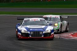 #67 United Autosports Audi R8 LMS GT3: Mark Blundell, Zak Brown, Richard Dean, Eddie Cheever