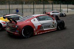 Probleem voor de Phoenix Racing Audis
