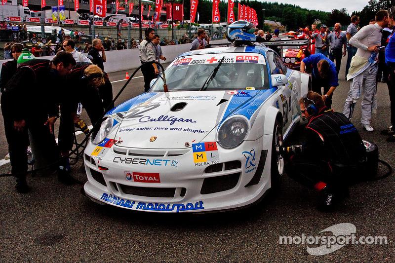 #52 Mühlner Motorsport Porsche 911 GT3 R GT3: Armen Fumal, Gianluca de Lorenzi, Jérome Thiry, Mark