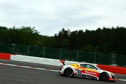 #73 WRT Belgian Audi Club Audi R8 LMS GT3: Stéphane Ortelli, Kurt Mollekens, Stéphane Lemeret, Franç