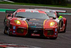 #1 AF Corse - ALD Team Vitaphone Ferrari F430 GT2: Michael Waltrip, Nicola Cadei, Robert Kauffman, Marco Cioci