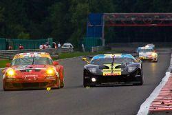 #71 Team RPM Ford GT GT3: Alex Mortimer, Peter Bamford, Matt Griffin, #23 BMS Scuderia Italia SPA Porsche 911 GT3 RS GT2: Romain Dumas, Jörg Bergmeister, Martin Ragginger, Wolf Henzler