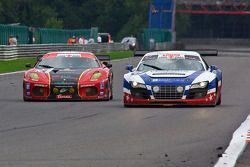 #67 United Autosports Audi R8 LMS GT3: Mark Blundell, Zak Brown, Richard Dean, Eddie Cheever, #1 AF
