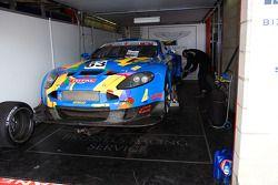 #63 Brussels Racing Aston Martin DBRS9 GT3: Christophe D'Ansembourg, Pierre Grivegnée, Jérôme Demay