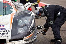 #81 Gravity International Mosler MT 900 GTN: Romain Grosjean, Vincent Radermecker, Diego Alessi, Ron