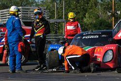 #77 Doran Racing Ford Dallara: Mark Patterson, Dion von Moltke