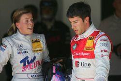 Problemen tussen Susie Stoddart, Persson Motorsport, AMG Mercedes C-Klasse en Mike Rockenfeller, Aud