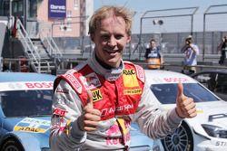 Le poleman Mattias Ekström, Audi Sport Team Abt