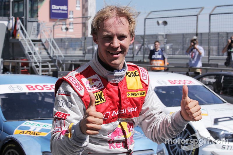 Polepositie Mattias Ekström, Audi Sport Team Abt