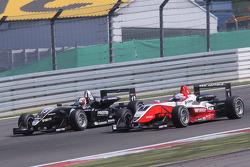 Antonio Felix da Costa, Motopark Academy, Dallara F308 Volkswagen overtakes Valtteri Bottas, ART Gra