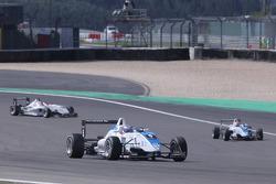 Edoardo Mortara, Signature, Dallara F308 Volkswagen rijdt voor Laurens Vanthoor, Signature, Dallara