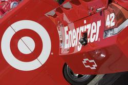 Detail van de auto, Juan Pablo Montoya, Earnhardt Ganassi Racing Chevrolet