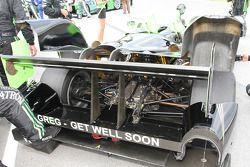 Boodschap Greg Pickett op de #1 Patron Highcroft Racing Honda Performance Development ARX-01c