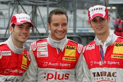 Miguel Molina Audi Sport Team Abt Audi A4 DTM, Timo Scheider, Audi Sport Team Abt et Oliver Jarvis, Audi Sport Team Abt Audi A4 DTM