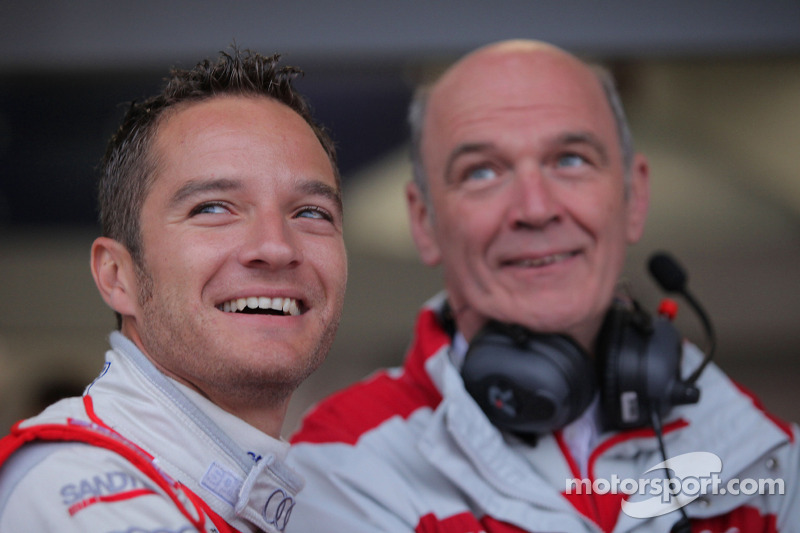 Timo Scheider, Audi Sport Team Abt , junto al Dr. Wolfgang Ullrich, jefe deportivo de Audi.