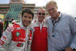 Mike Rockenfeller, Audi Sport Team Phoenix Audi A4 DTM met Norbert Heisterkamp