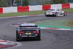 Timo Scheider, Audi Sport Team Abt Audi A4 DTM en Gary Paffett, Team HWA AMG Mercedes C-Klasse
