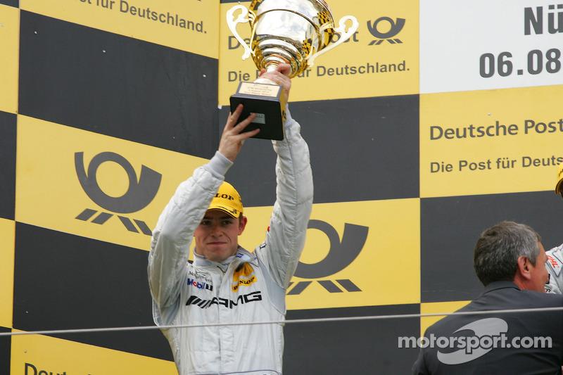 Podium: 2de Paul di Resta, Team HWA AMG Mercedes C-Klasse