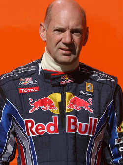 Adrian Newey, Red Bull Racing, Teknik Direktörü kazaea, ve race, 2010 Michelin Ginetta G50 Cup