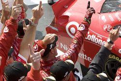 Victory lane: Earnhardt Ganassi Racing Chevrolet team