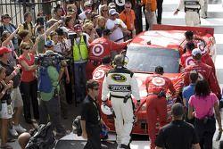 Victory lane: Earnhardt Ganassi Racing Chevrolet