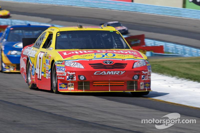 Marcos Ambrose, JTG Daugherty Racing Toyota