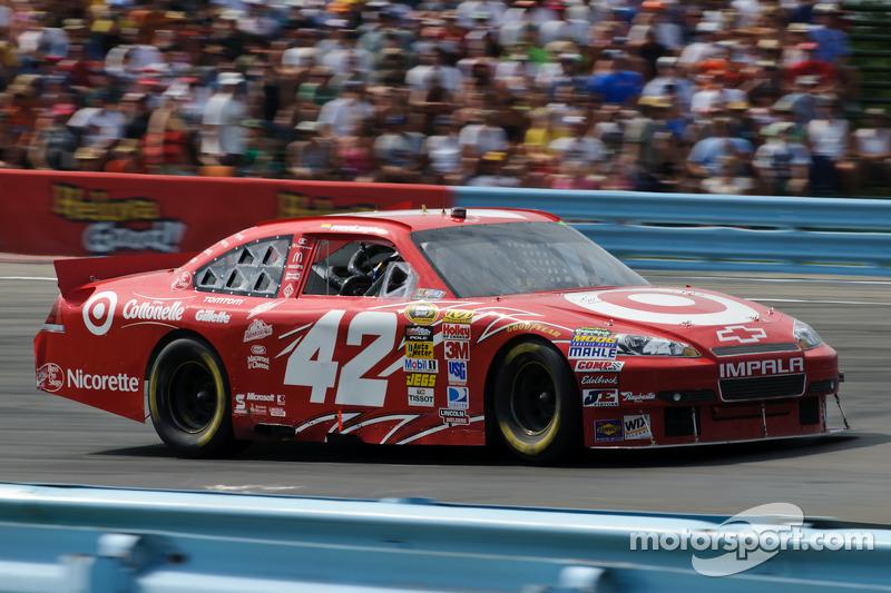 2010, Watkins Glen: Juan Pablo Montoya (Earnhardt/Ganassi-Chevrolet)