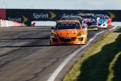 #68 SpeedSource Mazda RX-8: Adam Christodoulou, John Edwards