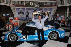 Victory lane: Chip Ganassi fête son succès