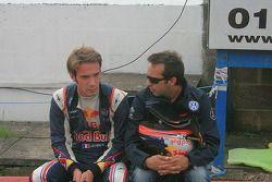 Jean-Eric Vergne et Renaud Derlot
