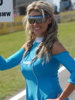 La grid girl de Rob Collard