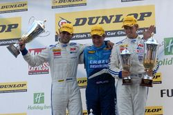 Race 2 Podium: 1st Jason Plato, 2nd Tom Chilton, 3rd Tom Onslow-Cole