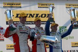 Race 3 Podium: 1st Gordon Shedden, 2nd Rob Collard, 3rd Matt Neal