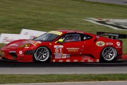 #61 Risi Competizione Ferrari F430 GT: Giancarlo Fisichella, Toni Vilander
